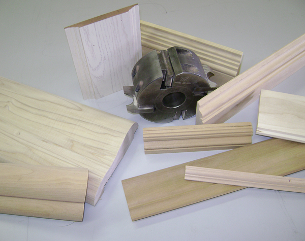 Custom molding profiles