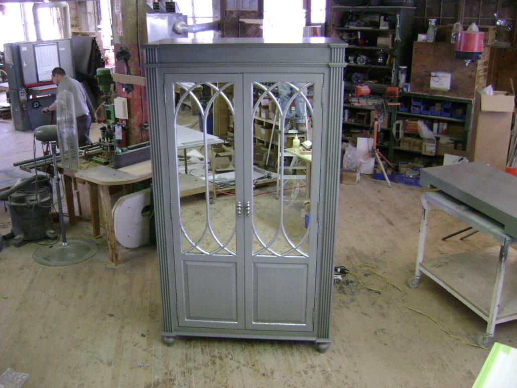 Silver custom door