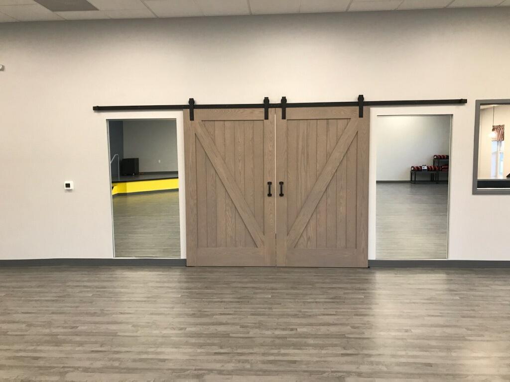 Sliding barn-style doors